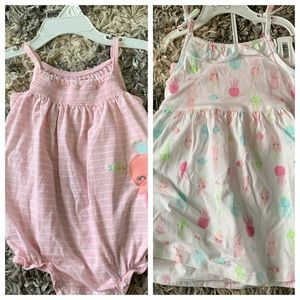 Carter's Jellyfish Dress and Romper Set